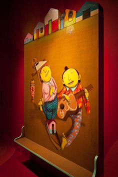 "Os Gemeos ""Miss You"" Exhibition at PRISM Gallery"