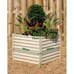 Hexies Square Raised Garden Bed MED 90cm WIDTH X 73cm HEIGHT...   Shop   Kaboodle