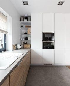 Wady i zalety białej kuchni