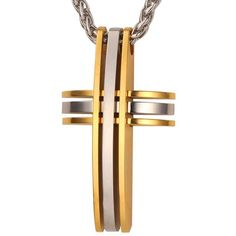 Big Cross Pendants Necklaces For Men