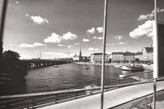 Black And White Stockholm Sverige Urban Lifestyle