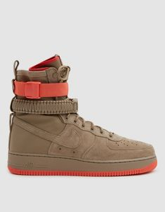brand new 40856 ce0d0 SF Air Force 1 Shoe in Khaki Khaki Rush Coral Air Force 1, Nike