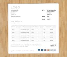 11 Best Invoice Templates Images In 2019 Bill Template Freelance