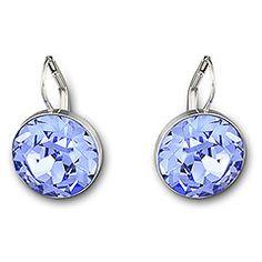 Swarovski Bella Light Sapphire Swarovski Bella Earrings, Swarovski  Crystals, Swarovski Jewelry, Faceted Crystal 237d2ff712