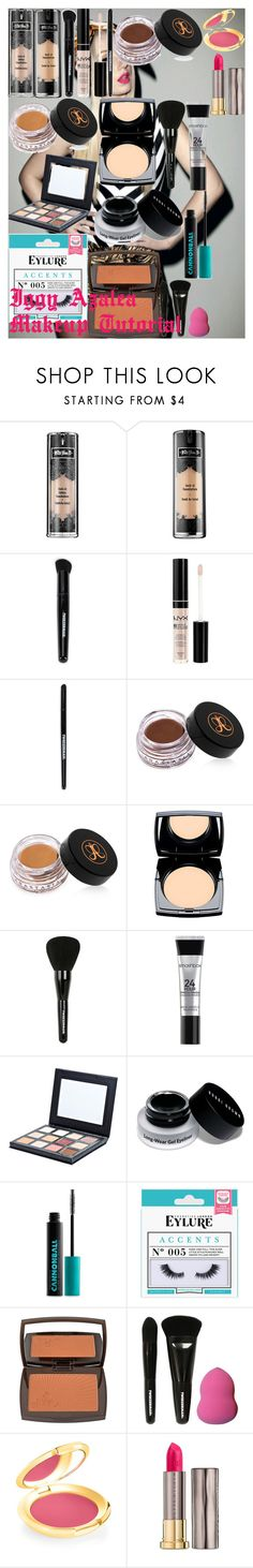 """Iggy Azalea Makeup Tutorial"" by oroartye-1 on Polyvore featuring beauty, Kat Von D, Tweezerman, NYX, Anastasia Beverly Hills, Lancôme, Smashbox, Sigma, Bobbi Brown Cosmetics and Urban Decay"