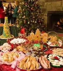 The ultimate cookie exchange party site! Perhaps to be combined with gift-wrapping party?  Or other such holiday goodness?