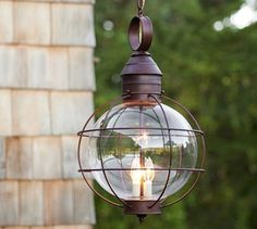 HOME DECOR – LIGHTING – PENDANT – Fisherman's Pendant, contemporary, outdoor lighting, Pottery Barn