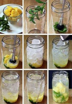 Add some flavor to your water for a tasty, healthy drink!