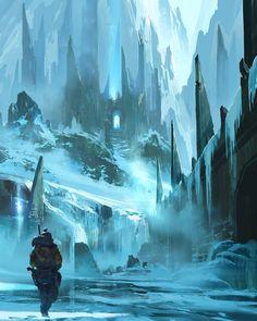 """Title: Lost Fortress Artist: Ryan Gitter"