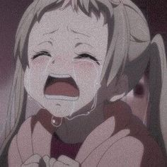 I still remember that face, it was so sad Anime Girl Crying, Sad Anime Girl, Anime Art Girl, Cartoon Girl Crying, Anime Girl Triste, Art Anime Fille, Manga Kawaii, Kawaii Anime Girl, Manga Anime