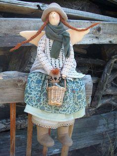 "Кукла тильда ""Ксюша и Компот"" #doll #tilda"