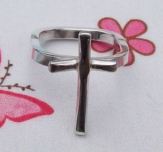 Silver Cross Ring  £60.00