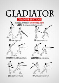 Gladiator Gladius Workout