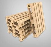 Návod - Ako si vyrobiť nábytok z paliet - HORNBACH.sk Palette, Jenga, Pallet Furniture, Shoe Rack, Texture, Toys, Crafts, Succulents Garden, Building Furniture