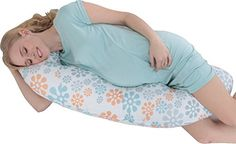 Maternity//pregnancy//nursing support body pillow//cushion with tie cords