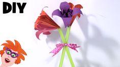 Hier laat ik je zien hoe je leuke bloemen kan voor Moederdag of als afscheidscadeau aan het einde van het schooljaar voor de juf. ---------------------------...