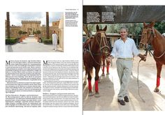 "Our CEO Christian Voelkers about Mallorca - featured in the 01/14 issue of ""Swiss Universe"""