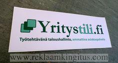 Yritystili.fi reklaamkleebis - http://www.reklaamkingitus.com/et/pildid?pid=2187