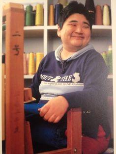 Yuka Sakaguchi- SAORI weaver