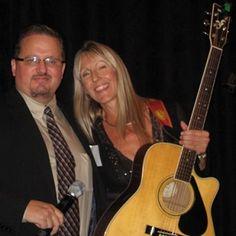 My friend Sharlene with Gary Franchi
