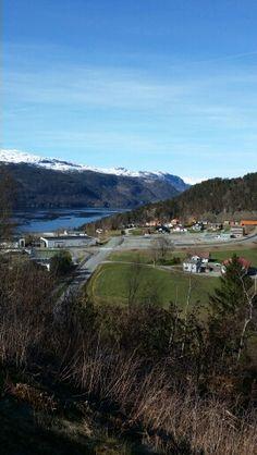 Eide og fjorden mot Sauda