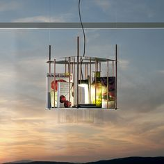 Lettura pendant lamp copper