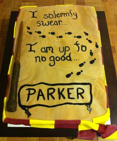 Harry Potter cake made by LACIE's cakes