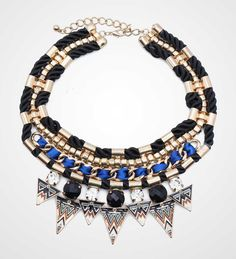 A piece of statement, dominated with blue and black color, will totally bring…