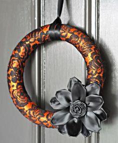 20 ideas for Halloween wreaths