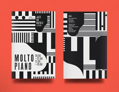 Molto Piano Jazz en rafale 2014 / designed by La Mamzelle & Co. atelier