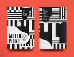 Molto Piano Jazz en rafale 2014 / designed by La Mamzelle & Co. atelier