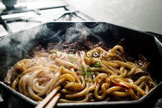 Yakiudon Recipe