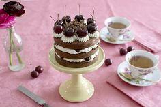 La chica de la casa de caramelo: Tarta Selva Negra
