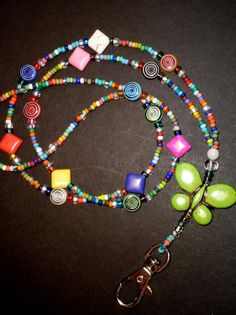 Jewelry: Beaded Lanyards