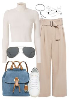 """""""Untitled #2616"""" by briarachele ❤ liked on Polyvore featuring A.L.C., MICHAEL Michael Kors, Yves Saint Laurent and Monica Vinader"""