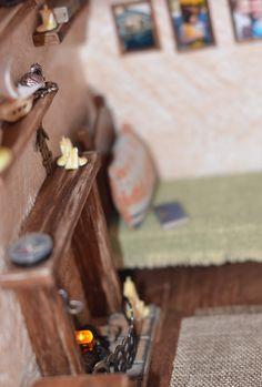 Дом у маяка.. – 35 фотографий Wood Watch, Lighthouse, Miniatures, Wooden Clock, Bell Rock Lighthouse, Wooden Watch, Light House, Mockup, Minis