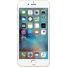 Unlocked Apple - Pre-Owned iPhone 6s 128GB Cell Phone - Gold