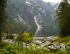 The far end of Princess Louisa Inlet, British Columbia, Canada Visit Canada, O Canada, Canada Travel, Vancouver City, Vancouver Island, Sunshine Coast, Gambier Island, Immigration Canada, Great Vacation Spots