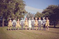 woodland creatures wedding shoot