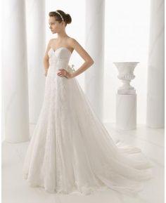 Áčkový střih Srdíčko Šatynahostinu Svatební šaty 2015