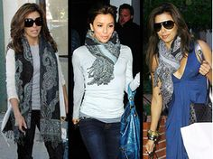 It's a scarf, it's a blanket, it's a shawl… Think multi-use, and also multi-outfit