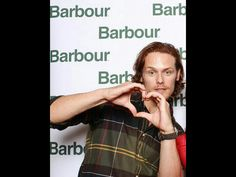 Outlander Sam Heughan for Barbour