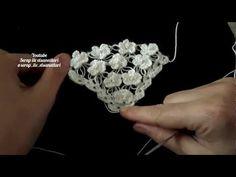 İNCİLİ KELEBEK ŞAL MODELİ YAPILIŞI / The construction of the Pearl Butterfly shawl Model - YouTube