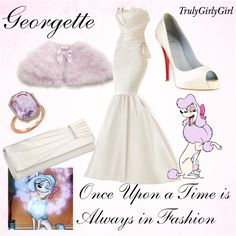 """Disney Style: Georgette"" by trulygirlygirl on Polyvore.    Es el vestido!!! :O"