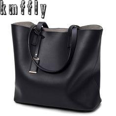 e115d3697197 KMFFLY 2017 Ladies Bags Fashion PU Leather Women Bag Designer Handbags High  Quality Famous Shoulder Bag