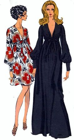 Vintage Sewing Pattern Vogue 7630 Evening or by sandritocat