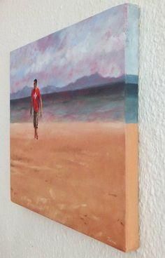 Original People Painting by Janna Prinsloo Africa Painting, Oil On Canvas, Canvas Art, Figurative Art, Beautiful Beaches, Saatchi Art, Original Paintings, The Originals, Artist