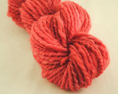 "My first handspun #yarn listing on @Etsy!  Pink ""Antique Roses""  100% Falkland Wool by @Stockannette, $15.00"