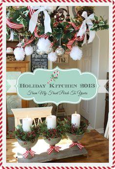 French Farmhouse Holiday Kitchen 2013