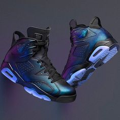 Additional official imagery of the Air Jordan 6 Chameleon (All Star) is featured. Find it at select Jordan Brand stores on Feb. Jordan Swag, Jordan Vi, Jordan 2017, Sneakers Mode, Sneakers Fashion, Shoes Sneakers, Jordan Shoes Girls, Girls Shoes, Zapatillas Jordan Retro